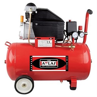 Attlas Kompresör - 2,5 Hp - 8 Bar - Zj2050N 46 Lt