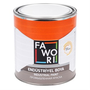 Fawori İdeal Parlak End. Boya Mat Beyaz 0,75Kg