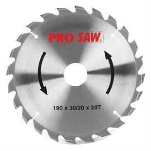 PROSAW SUNTA TESTERE 190MM*24T PS51217